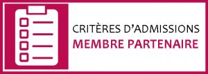 Dessin, en rose et blanc, d'un formulaire, avec l'inscription Critères d'admission membre partenaire