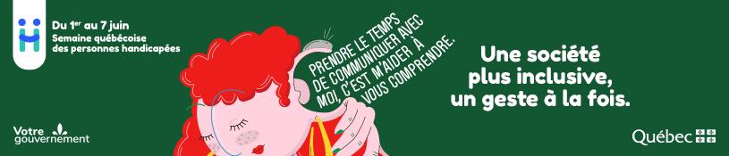 Semaine québécoise des personnes handicapées 2021